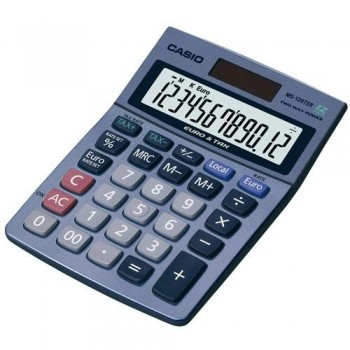 CALCULADORA SOBREMESA 12 DÍGITOS CASIO MS120 TER