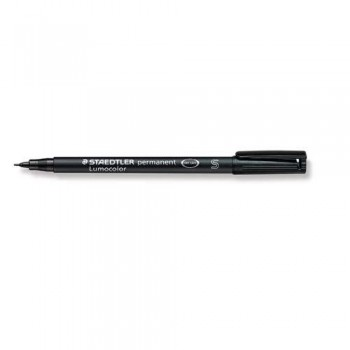 ROTULADOR PERMANENTE PUNTA S 0,4 MM NEGRO LUMOCOLOR 313 SUPERFINO STAEDTLER