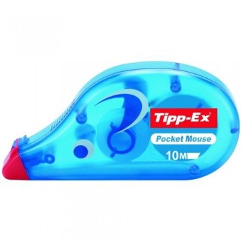 CINTA CORRECTORA 10MX4,2MM TIPP-EX POCKET MOUSE ESTANDAR