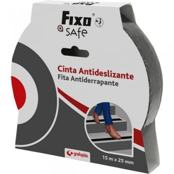 CINTA ANTIDESLIZANTE FIXO SAFE 15M X 25MM