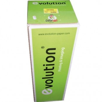 BOBINA PLOTTER 1067X50 METROS 90g EVOLUTION
