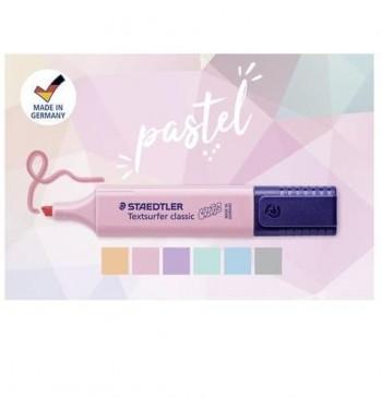 Rotulador fluorescente Triplus Textsurfer 362 Pastel & Vintage carmín claro / Rosa claro Staedtler
