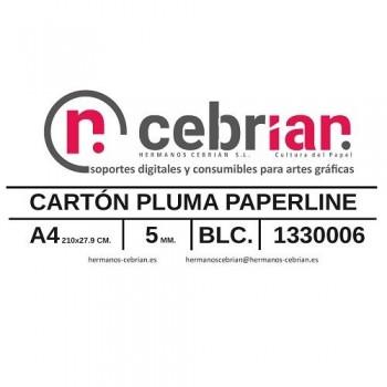 CAJA 50 HOJAS CARTON PLUMA 5MM A4 PAPERLINE