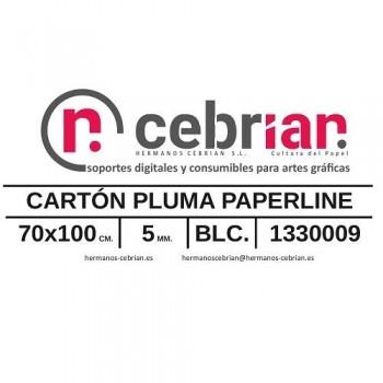 HOJA CARTON PLUMA 5MM 70X100 PAPERLINE