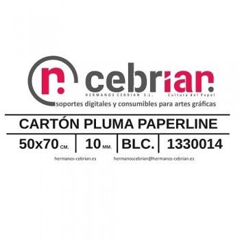 HOJA CARTON PLUMA 50X70 10MM PAPERLINE