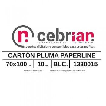 HOJA CARTON PLUMA 70X100 10MM PAPERLINE