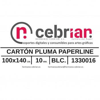 HOJA CARTON PLUMA 100X140 10MM PAPERLINE