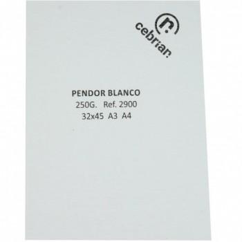 PTE. A4 250 GRS 100H PENDOR BLANCA