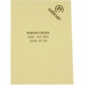 PTE. A4 250 GRS 100H PENDOR CREMA