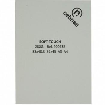 PAQUETE 25 CARTULINAS SOFT TOUCH 280G 33X48,2