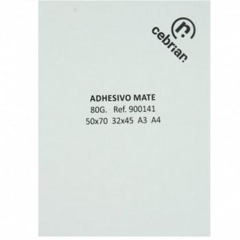 100H PAPEL ADHESIVO C/ CORTES 320X450 SRA3 MATE