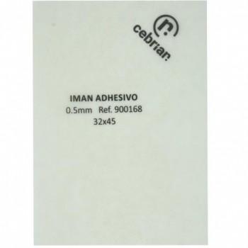 PVC MAGNETICO ADHESIVO 0.5MM BLANCO 70X100