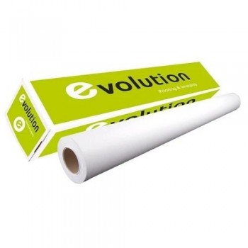 BOBINA EVOLUTION MATTE COATED PAPER 140G 610X30M