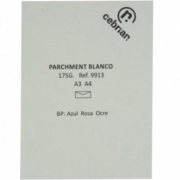 PAQUETE 100 HOJAS A3 175GR. PARCHMENT BLANCO