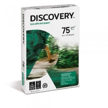 PAQUETE 500 HOJAS DISCOVERY A4 75G