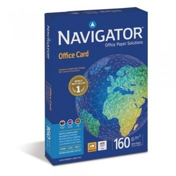 PAQUETE 250 HOJAS DIN-A3 160 G NAVIGATOR OFFICE CARD
