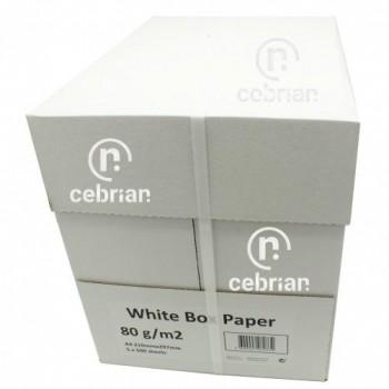 PAQUETE A4 80G 500 HOJAS WHITE BOX